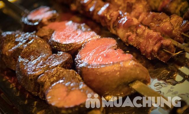 Buffet thịt nướng đẳng cấp tại Vườn nướng Brazil   - 5