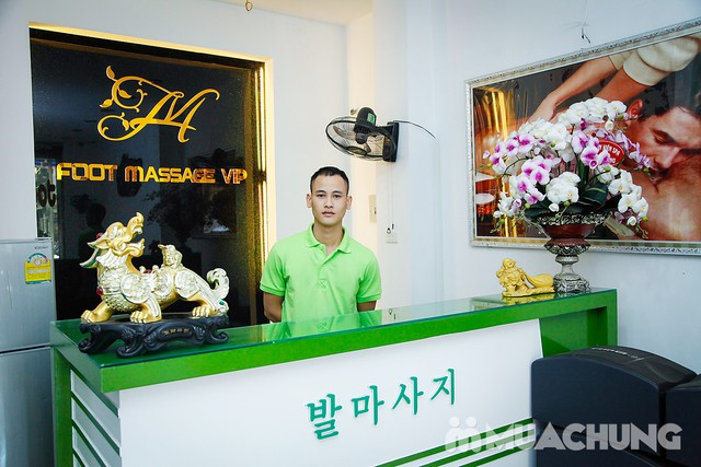 90' massage body & foot massage tinh dầu thảo dược Hồng Anh Foot Massage - 6