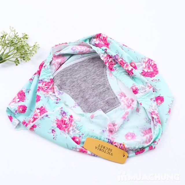 Combo 4 quần lót đúc xu họa tiết hoa - 4