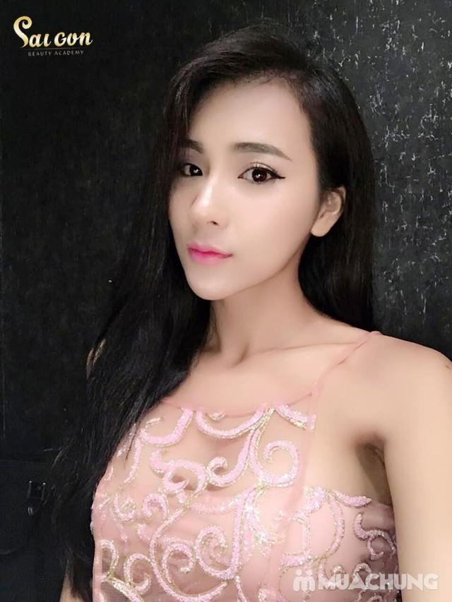 Phun tán bột đẹp tự nhiên - Công nghệ Hàn Quốc Sài Gòn Beauty & Spa - 5