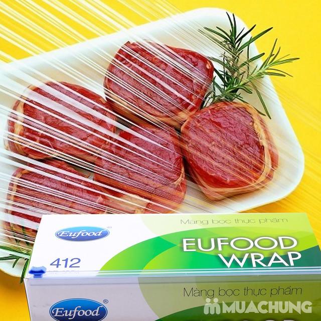 Màng bọc thực phẩm Eufood PVC 412 (250m x 30cm) - 11