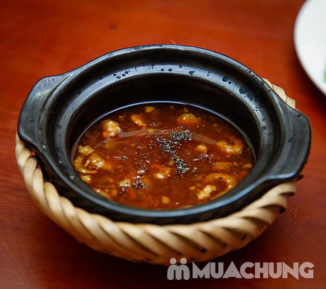 Set lẩu gà lá giang 4 người - Ẩm thực phương Nam Nhà hàng Cô Hai - 5