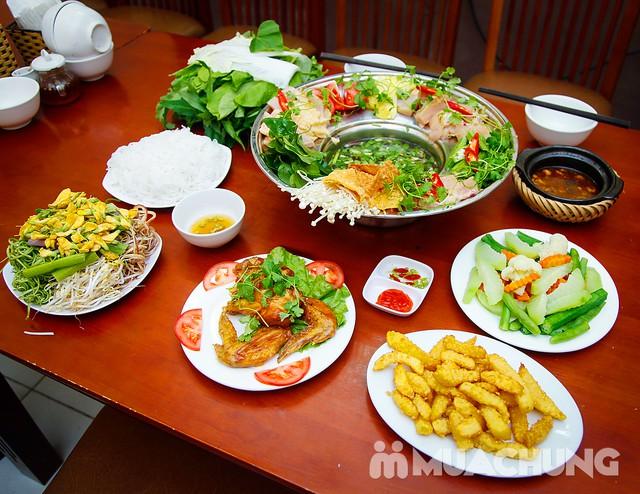 Set lẩu gà lá giang 4 người - Ẩm thực phương Nam Nhà hàng Cô Hai - 15