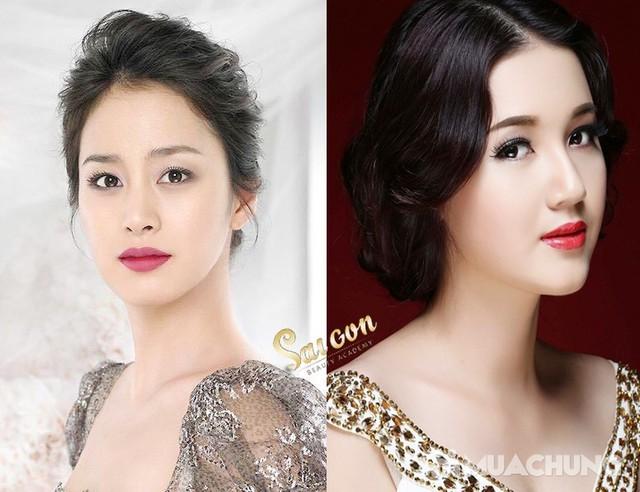 Phun tán bột đẹp tự nhiên - Công nghệ Hàn Quốc Sài Gòn Beauty & Spa - 7