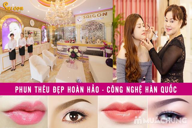 Phun tán bột đẹp tự nhiên - Công nghệ Hàn Quốc Sài Gòn Beauty & Spa - 6