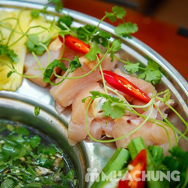 Set lẩu gà lá giang 4 người - Ẩm thực phương Nam Nhà hàng Cô Hai - 14