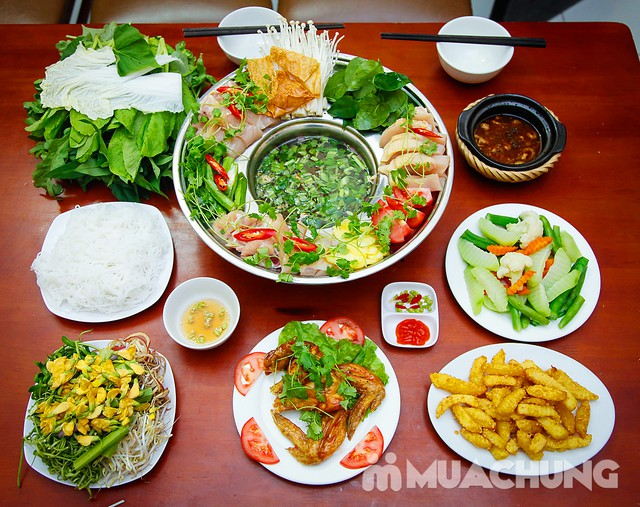 Set lẩu gà lá giang 4 người - Ẩm thực phương Nam Nhà hàng Cô Hai - 8