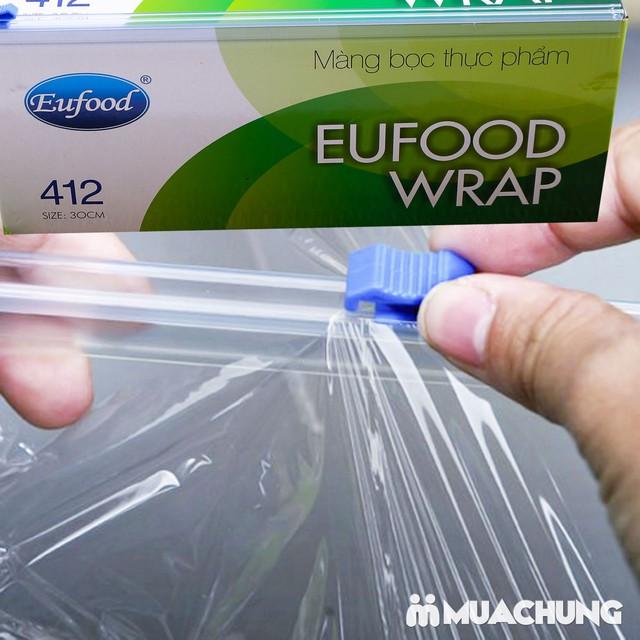 Màng bọc thực phẩm Eufood PVC 412 (250m x 30cm) - 10