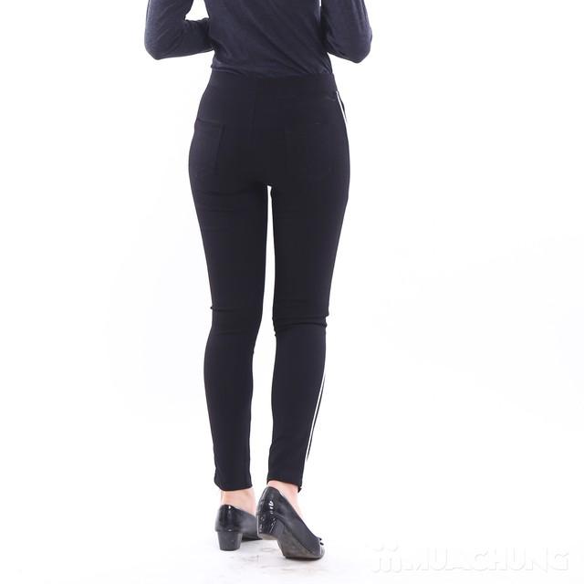 Quần legging sọc chất umi cho nữ - Mẫu mới 2017 - 1