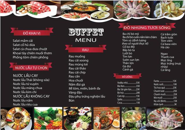 Buffet lẩu ngon, bổ, rẻ tại nhà hàng Nghiện Lẩu - 1