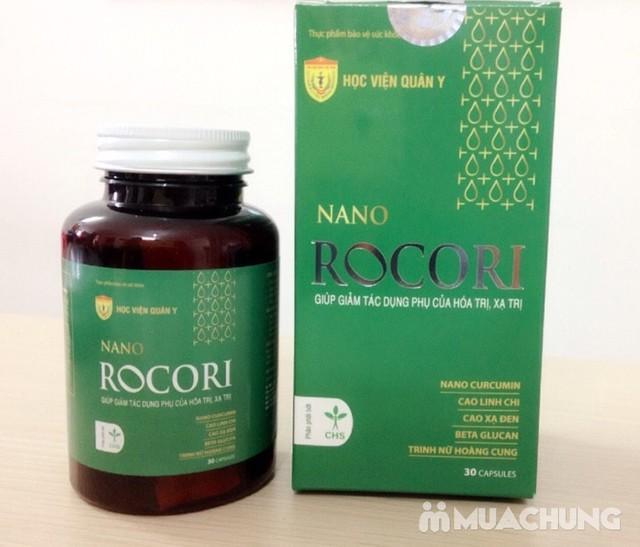 Nano Rocori giảm tác dụng phụ hóa trị - HV Quân Y - 1