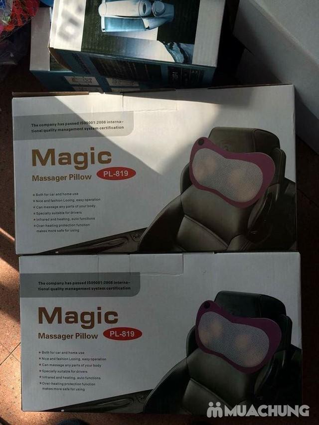 Gối massage hồng ngoại Magic Pillow 819 - 4