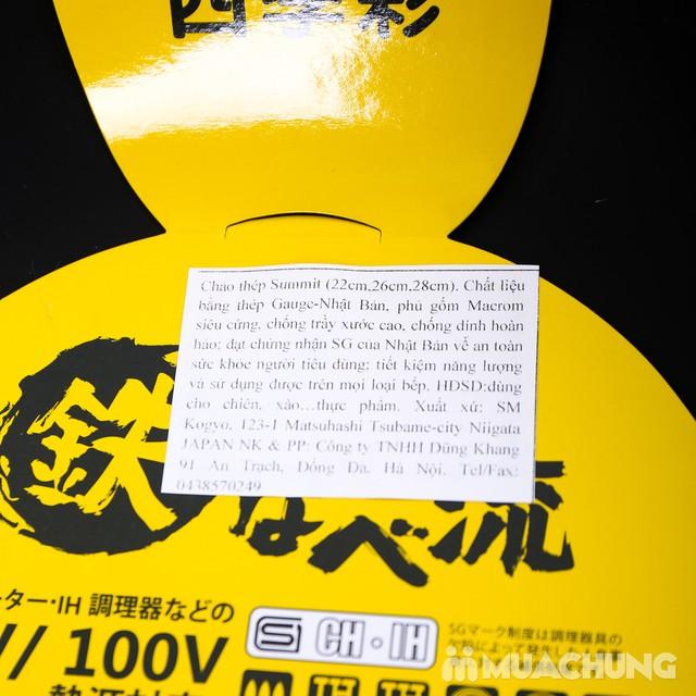 Chảo chiên, xào sâu lòng Summit 28cm NK Nhật Bản - 12