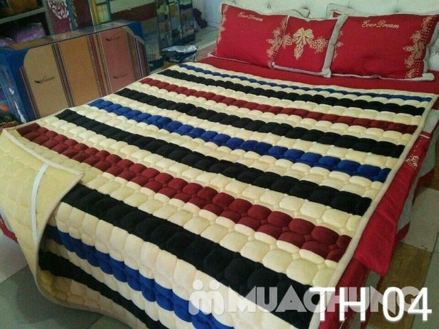 Thảm nỉ trải giường ấm áp cho mùa đông 1m8x2m - 3