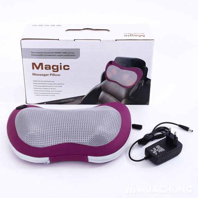 Gối massage hồng ngoại đa năng Magic - 7