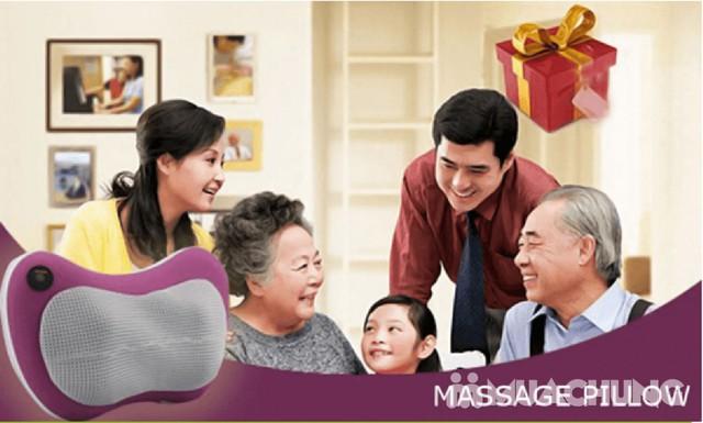 Gối massage hồng ngoại đa năng Magic - 13
