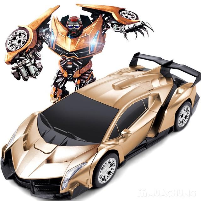 Ôtô biến hình siêu nhân Transformers có điều khiển - 3