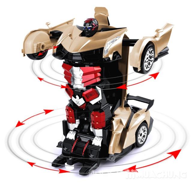 Ôtô biến hình siêu nhân Transformers có điều khiển - 1