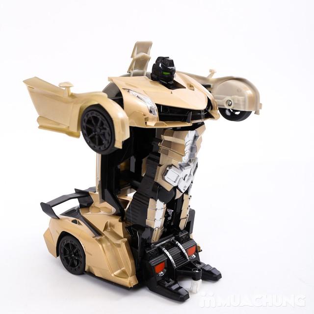 Ôtô biến hình siêu nhân Transformers có điều khiển - 6