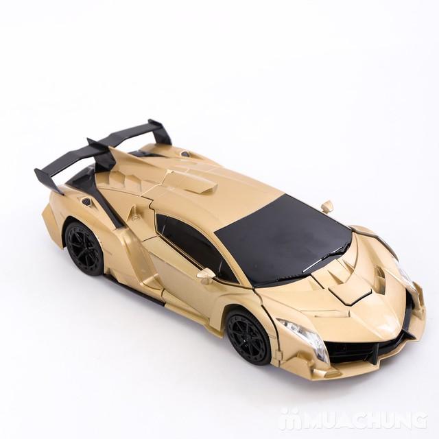 Ôtô biến hình siêu nhân Transformers có điều khiển - 4