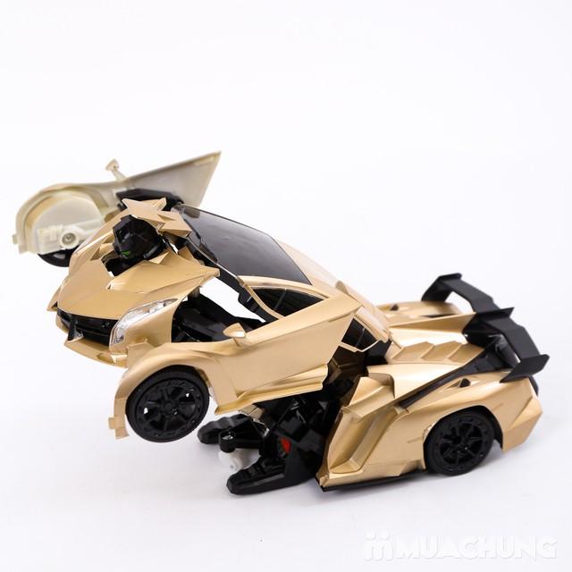 Ôtô biến hình siêu nhân Transformers có điều khiển - 7
