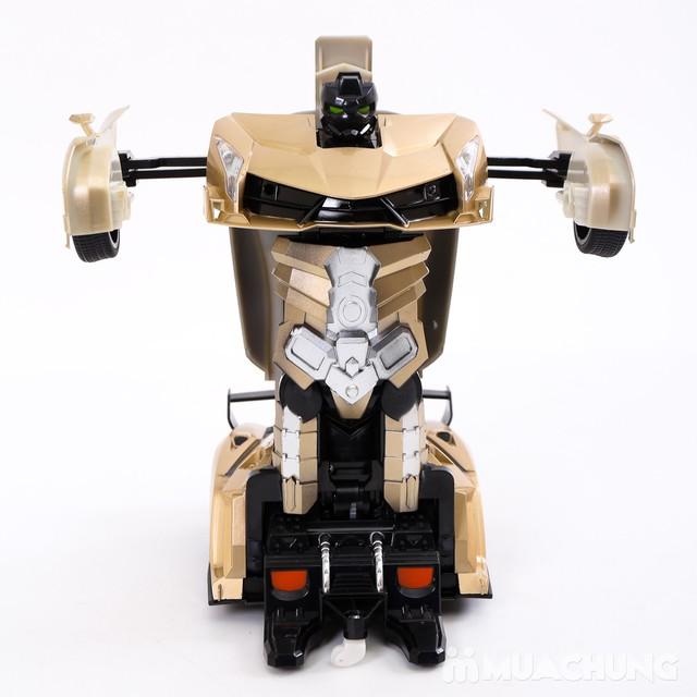Ôtô biến hình siêu nhân Transformers có điều khiển - 5