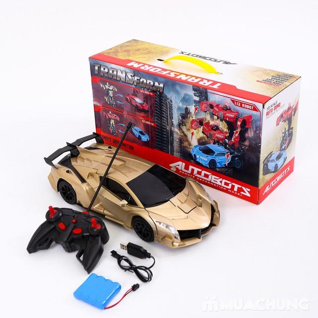 Ôtô biến hình siêu nhân Transformers có điều khiển - 8