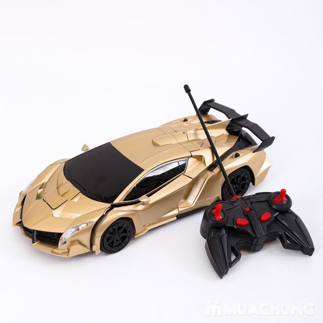 Ôtô biến hình siêu nhân Transformers có điều khiển - 9