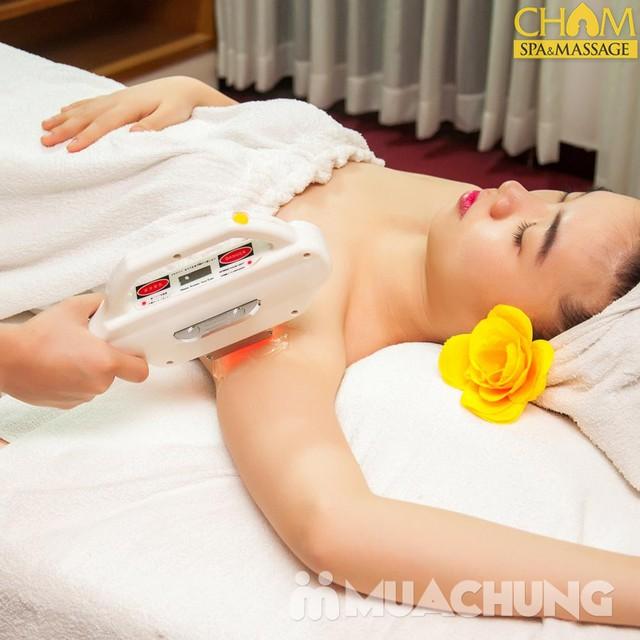 Triệt lông 2 nách bằng công nghệ Diode laser tại Cham spa & Massage - 15