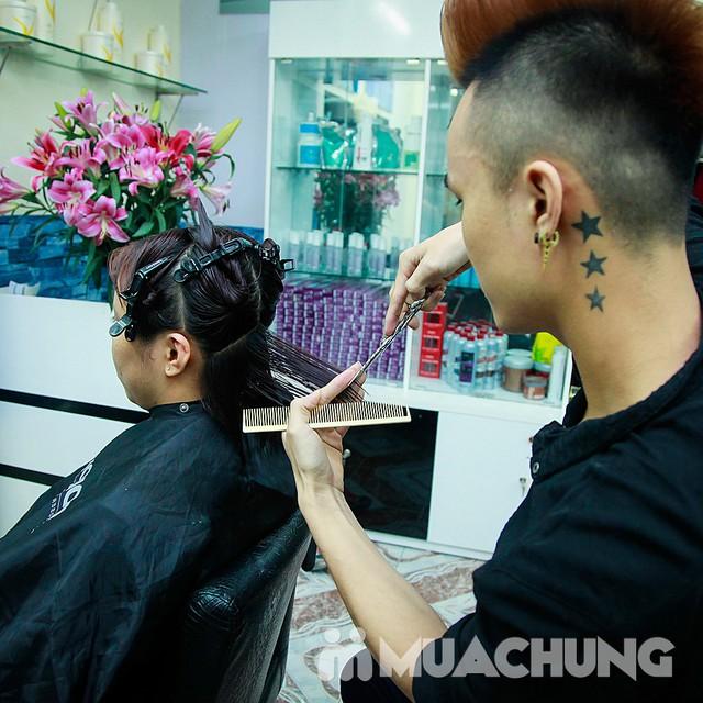 Nhuộm tóc đẹp tặng hấp đón Noel & năm mới  Nhung Hair Salon & Spa - 7