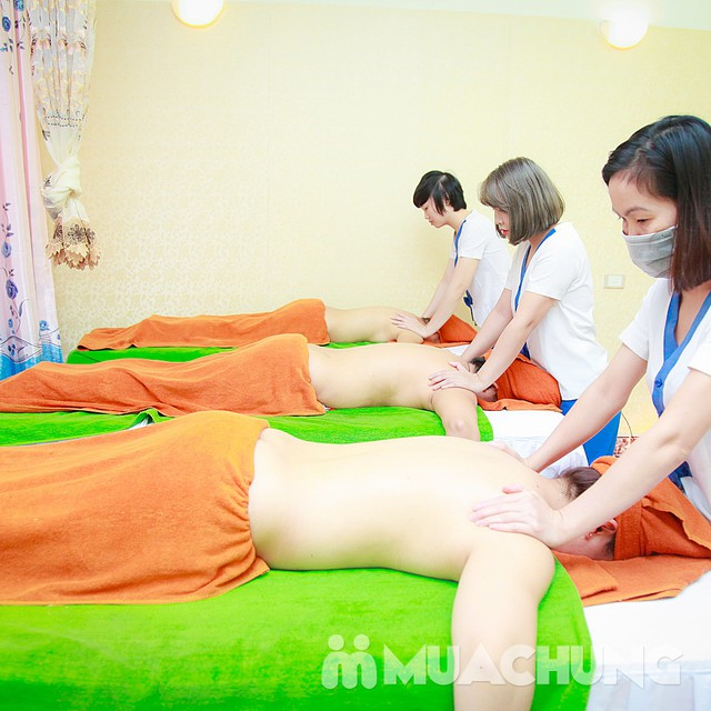 Massage, ấn huyệt toàn thân tinh dầu thiên nhiên Nhung Hair Salon & Spa - 14
