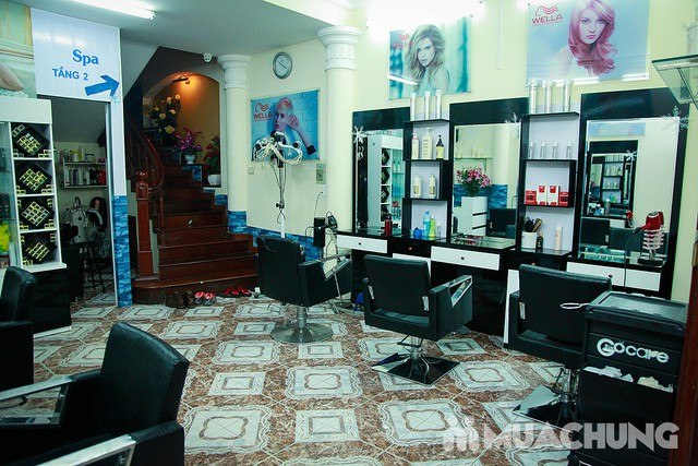 Nhuộm tóc đẹp tặng hấp đón Noel & năm mới  Nhung Hair Salon & Spa - 1