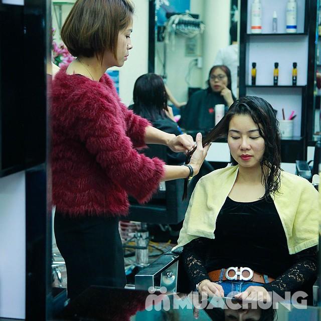 Nhuộm tóc đẹp tặng hấp đón Noel & năm mới  Nhung Hair Salon & Spa - 6