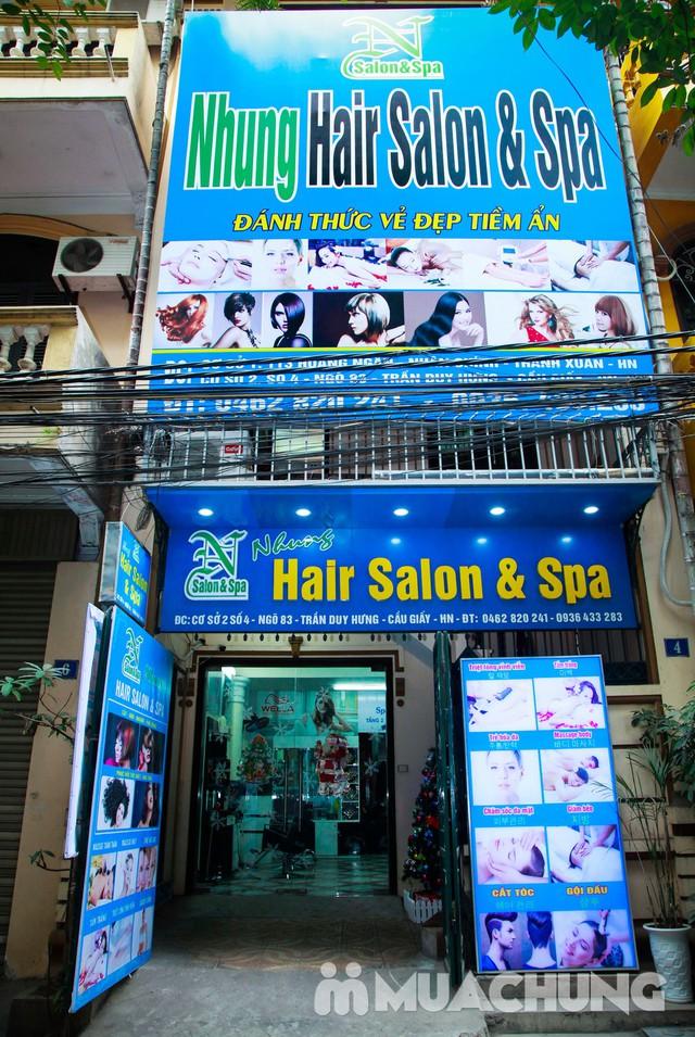 Nhuộm tóc đẹp tặng hấp đón Noel & năm mới  Nhung Hair Salon & Spa - 4