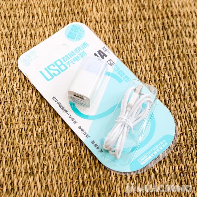 Combo dây & củ sạc iPhone 5/6 - Bảo hành 3 tháng - 2