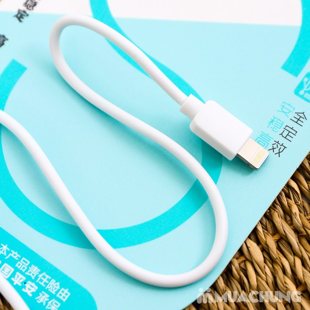 Combo dây & củ sạc iPhone 5/6 - Bảo hành 3 tháng - 7
