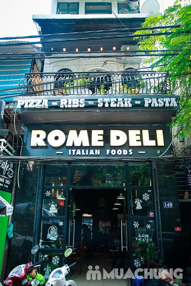 """Đến Rome Deli hẹn hò cùng """"nàng thơ"""" của ẩm thực Ý - 2"""