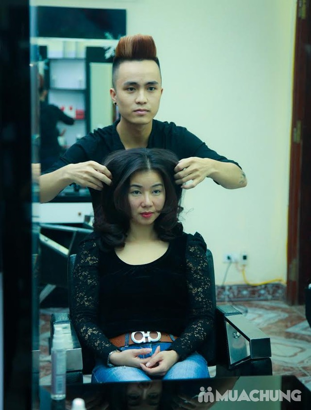 Nhuộm tóc đẹp tặng hấp đón Noel & năm mới Nhung Hair Salon & Spa - 11