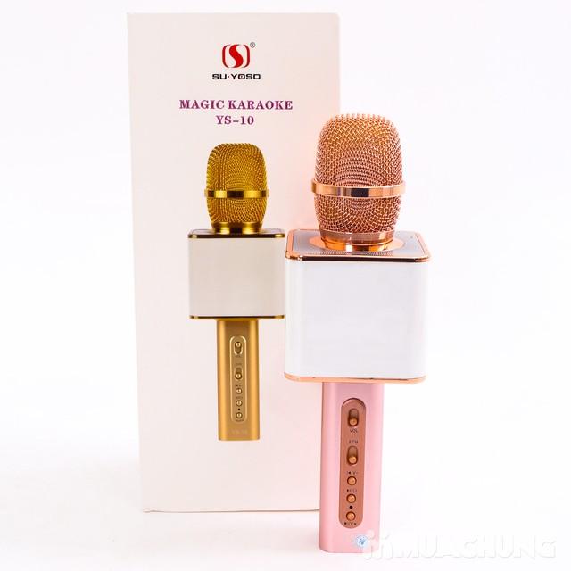 Mic hát Karaoke Magic YS-10 có cổng USB - 11