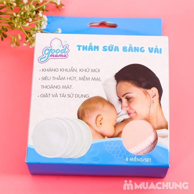 Set 8 miếng thấm sữa bằng vải Good Mama - hàng VN - 11
