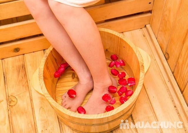 Chăm sóc da mặt mùa khô tặng ngâm chân thuốc bắc Ban Mai Spa - 13
