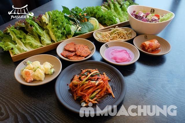Buffet thịt nướng chuẩn Hàn Quốc tại Yukssam BBQ - 26