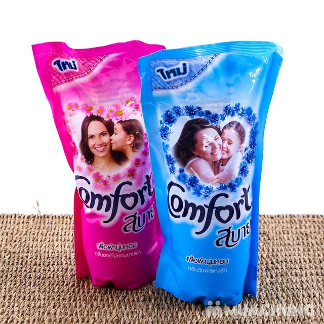 Combo 6 túi nước xả vải Comfort Thái Lan 600ml - 9