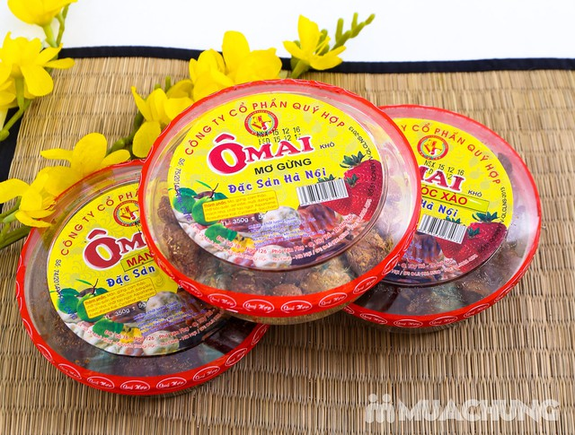3 hộp ô mai hương vị cổ truyền Hà Nội (350g/1 hộp) - 13