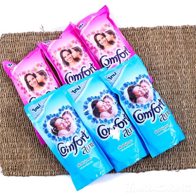 Combo 6 túi nước xả vải Comfort Thái Lan 600ml - 11