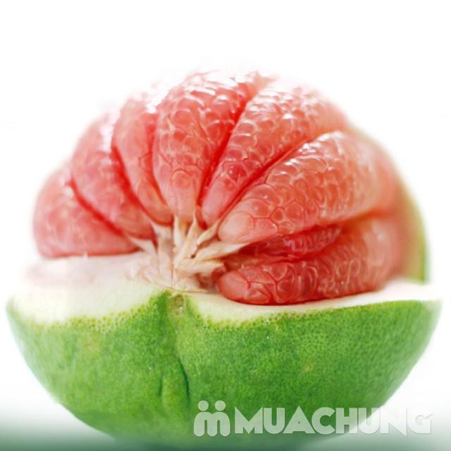 3 quả bưởi da xanh Hương miền Tây (~ 1kg/quả) - 11