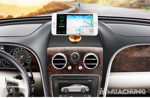 2 giá đỡ điện thoại nam châm dùng trên ô tô - 1