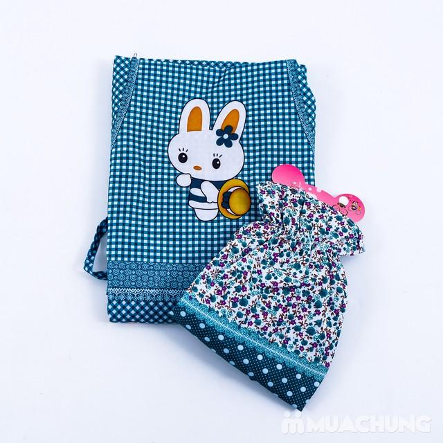 Set tạp dề & găng tay chống thấm họa tiết xinh xắn - 2