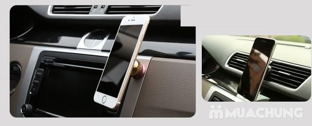 2 giá đỡ điện thoại nam châm dùng trên ô tô - 5