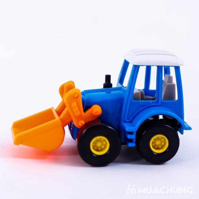 Bộ 6 xe công trình cỡ nhỏ - Bé tập làm công nhân - 6